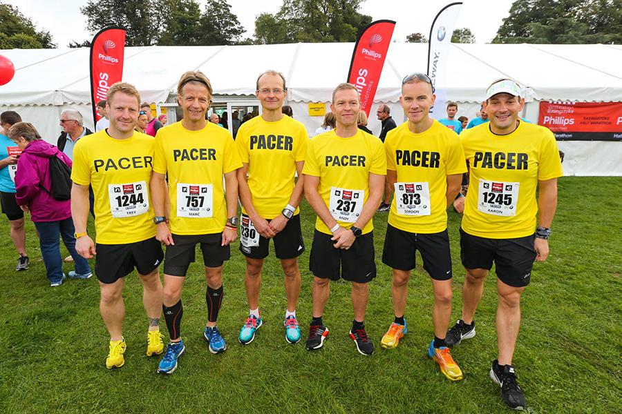 basingstoke half marathon pacers