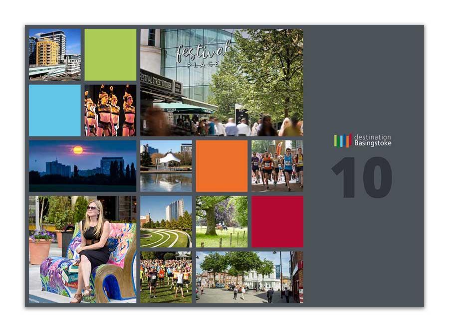 Destination Basingstoke Ten Years Brochure