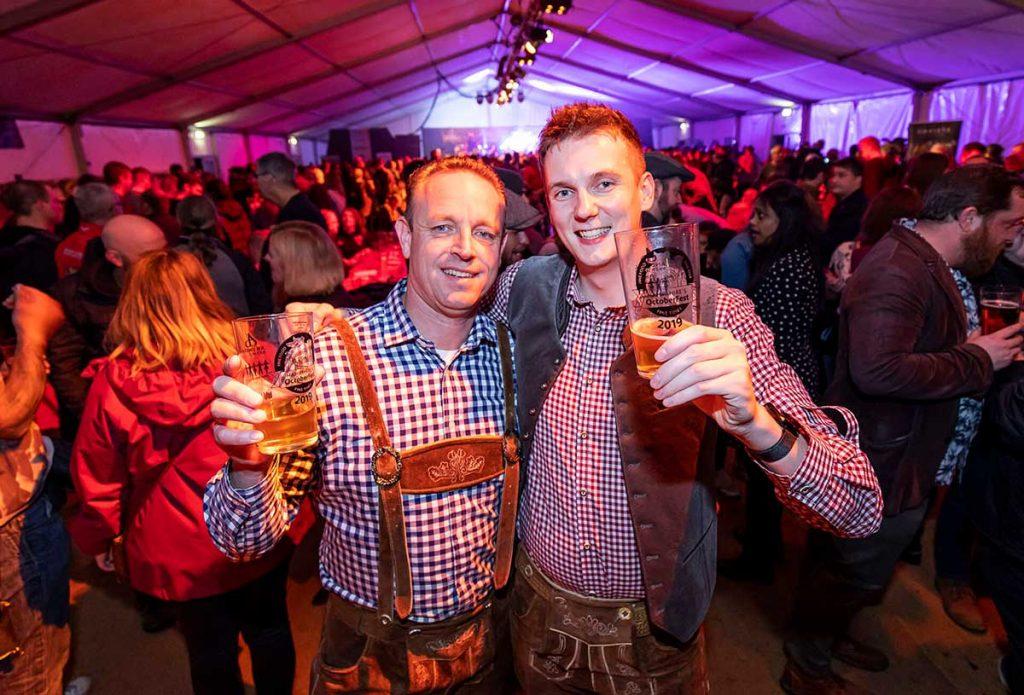 Hampshire Octoberfest 2019 Drinkers