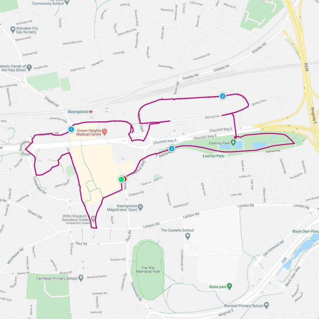 croudace homes festival 5k route 2021