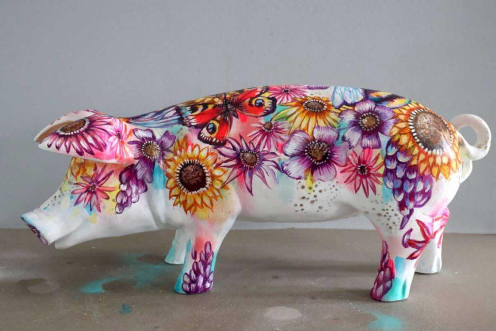 Hampshire hog artwork